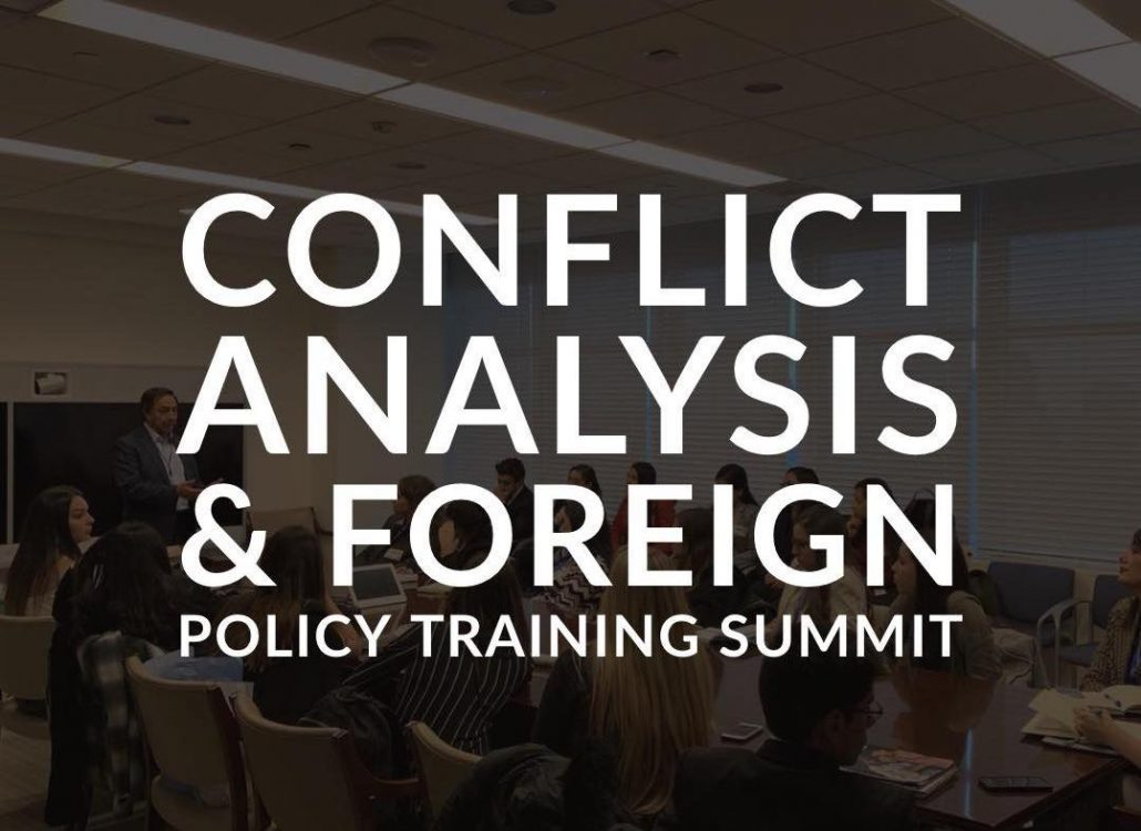 We invite you to learn more about our unique training on Conflict Analysis and Foreign Policy.