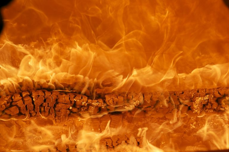 fire, wood fire, flame