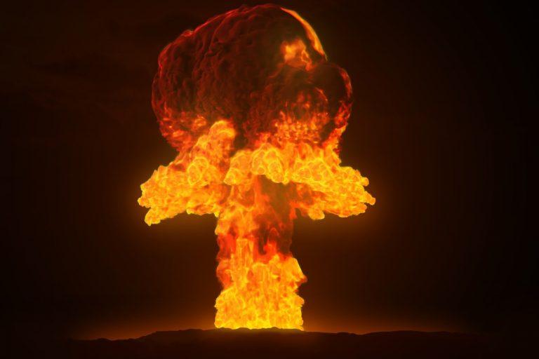 nuclear, atom, bomb