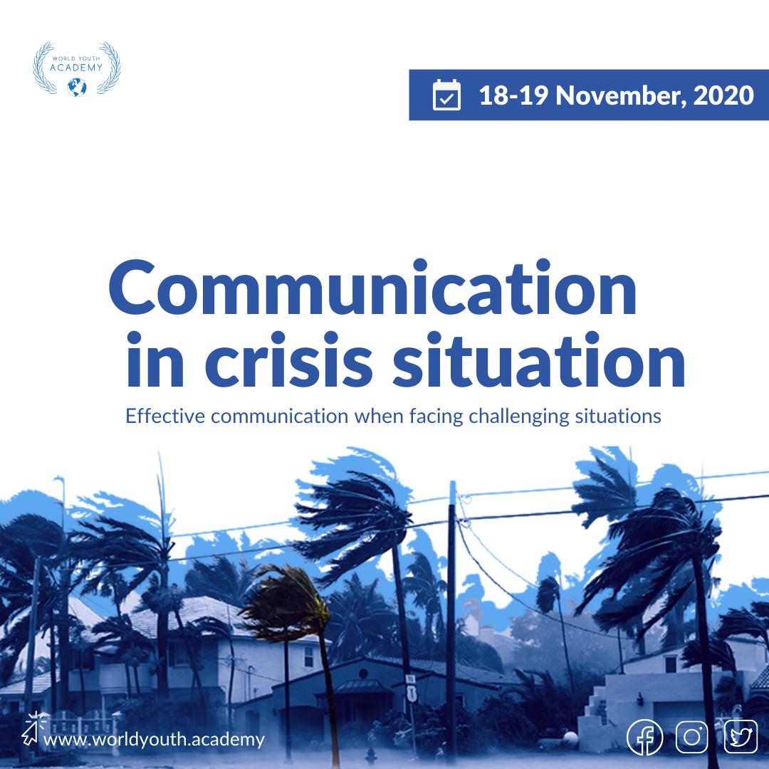 Crisis Communication Mgmt Nov 2020